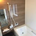 売主施工例 同仕様一坪タイプの浴室(風呂)