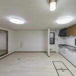 1階キッチンは新規交換済みです。(キッチン)
