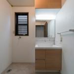 1階洗面台も新規交換済み。