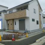 お洒落なデザイナーズ住宅。もうすぐ完成です!!(外観)