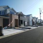 お洒落なデザイナーズ住宅。堂々完成です!!(外観)