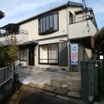 大型2世帯住宅(3LDK+3LDK)大和ハウス設計施工の軽量鉄骨造(外観)